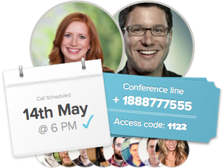 Get a conference number & access code